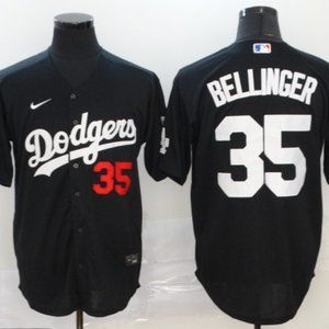 Youth Dodgers Cody Bellinger Jersey Black
